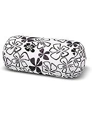 Invitalis Nekrol met microparels in kleuren – Öko-Tex Standard 100 – orthopedisch relaxkussen als hoofdkussen, reiskussen en nekkussen, thuis of op reis