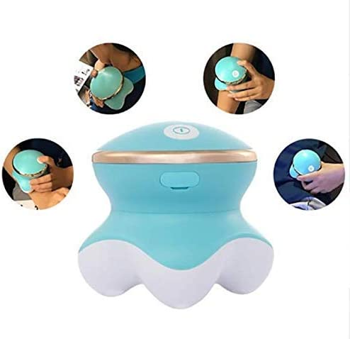 Enshey Mini Vibrating Body Massager-Handheld Portable Vibration Massager USB Powered Back Shoulder Leg Massager