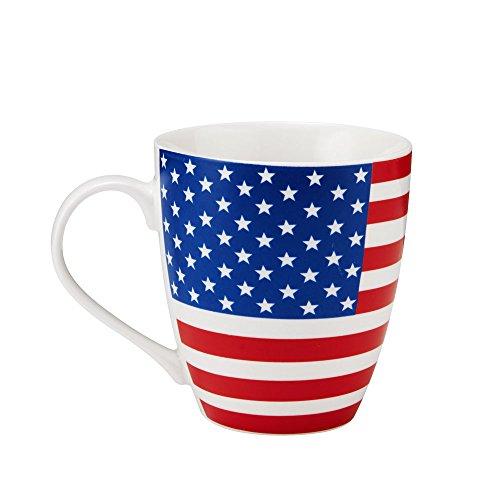 (Pfaltzgraff Patriotic American Flag Coffee Mug - Large American Flag Coffee Mug - 18 Oz )