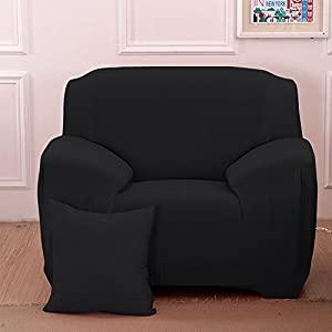 Boshen Stretch Seat Chair Covers Couch Slipcover Sofa Loveseat Cover Sheet 9 Colors/4 for 1 2 3 4 Four People Sofa + 1 Pillowcase