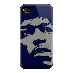 RichardBingley Iphone 6 Scratch Resistant Hard Cell-phone Case Support Personal Customs Realistic Jimi Hendrix Series [YpD8522xVBF]