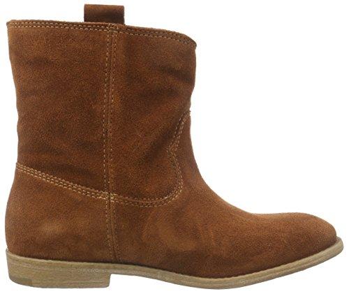 brick 25326 Slip Short Women's Orange on Cold Boots Tamaris 544 Length Lined v6AHw