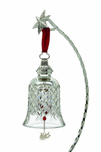 Waterford Crystal Twelve Days of Christmas Bell, 2nd Edition, Two Turtle Doves, Alana Pattern (Ornaments Days Of Christmas Waterford Twelve)
