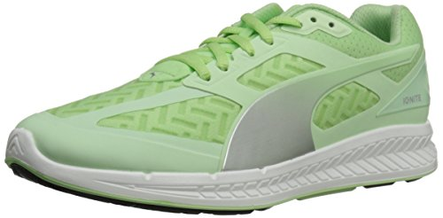 Puma Women's Ignite PWR Cool Running Shoe Patina Green/Silver Metallic