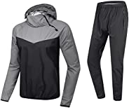 MulYeeh Advanced Weight Loss Sweat Suit Heavy Duty Sauna Suit Fitness Exercise Gym Jacket Pant Workout Sweatsu