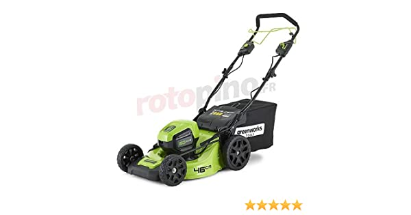 Greenworks Tools cortacésped Autopropulsado 46 cm 60 V Lithium-Ion ...