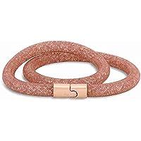 Swarovski Stardust Vintage Rose Double Bracelet