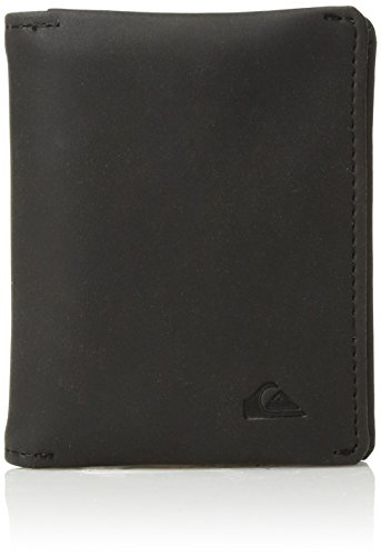 (Quiksilver Men's BI FOLD PU SMART CARD HOLDER WALLET, black, M)