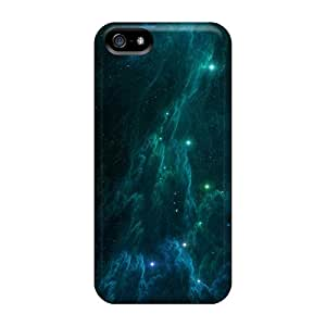 Protective Cases With Fashion Design For Iphone 5/5s (space Stars)