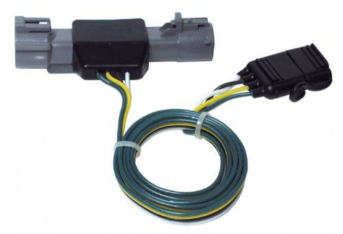 Hopkins 40125 LiteMate Vehicle to Trailer Wiring Kit (Pico 6870PT) 1987-1996 Ford F150 1987-1998 F250 Light Duty / F350 (Ford Trailer Adapter)