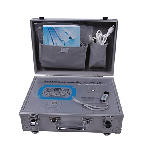 Quantum Resonance Magnetic Analyzer with 30 Reports in English and Spanish, Silver by shenzhenchanghengtaimaoyiyouxiangongsi