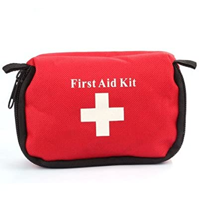 Meily(TM) Emergency First Aid Kit Bag Pack Home Travel Sport Wilderness Survival