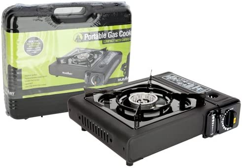 Summit Portable Camping Gas Stove (Gas Not Included)