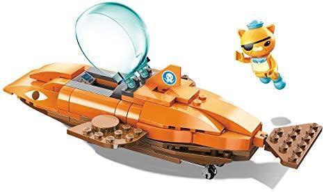 Qman Kid Building Block Educational Toy Octonauts GUP-S Vehicle DIY Brick 275PCS