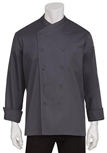 Chef Works Men's Anguilla Executive Chef Coat (FBCC) by Chef Works