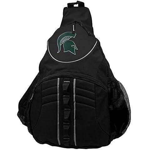 NCAA Michigan State Spartans B-Line Sling Bag, Black - State Sling Backpack