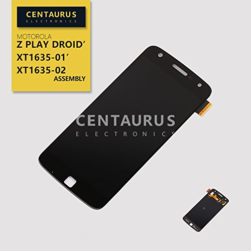 USA Black For Motorola Z Play Droid XT1635-01 XT1635-02 New Assembly LCD Display Touch Screen Digitizer by centaurus