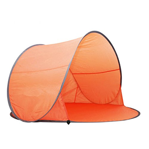 Portable Pop-up Sun Shelter Uv/wind Tent Uv Protection 1-2 Persons for Camping Hiking