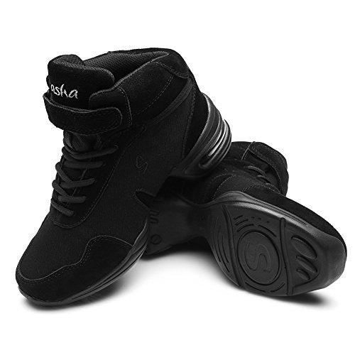 amp;Jazz Baskets Air B60 de Sport Modern Femmes Gymnastique Plein de de Hommes Baskets Chaussons Modèle Toile Mesh Sneaker HIPPOSEUS Soft de Danse de de Chaussures et 4xUCnq1