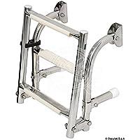 Scaletta inox 5 gradini English: S.S transom ladder