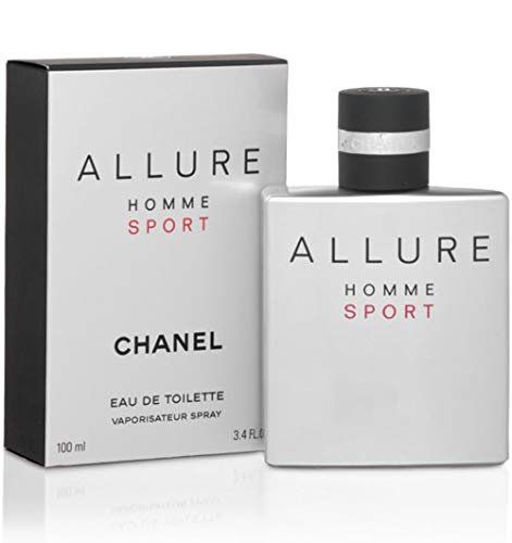 (Chanel Allure Homme Sport Men Eau de Toilette Spray 3.4 fl oz / 100 ml )