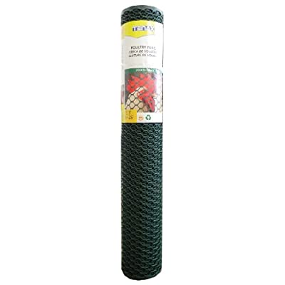 Tenax 090786 Poultry Fence, Green