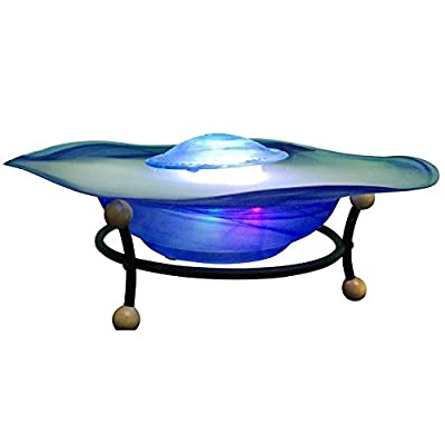 Table Top Mist Fountain (Blue and White)
