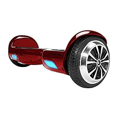 Swagtron Swagboard Twist Lithium-Free UL2272 Certified Hoverboard with Startup Balancing, Dual 250W Motors, Patented SentryShield Quantum Battery Protection