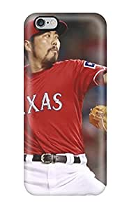 New Shockproof Protection Case Cover For Iphone 6 Plus/ Texas Rangers Case Cover