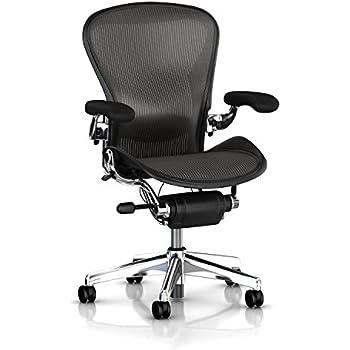 Herman Miller Classic Aeron Task Chair: Tilt Limiter W/Seat Angle Adj    Lumbar