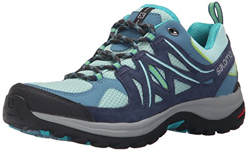 Salomon Ellipse 2 Aero - Zapatos de Low Rise Senderismo Mujer Azul (Igloo Blue /         Slateblue /         Teal Blue F)