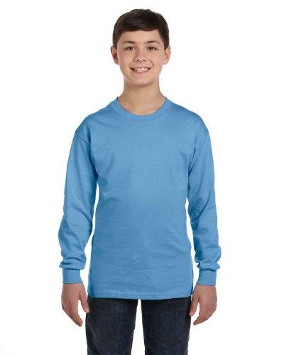 Gildan Heavy Cotton Youth 5.3 oz. Long-Sleeve T-Shirt, Mediu
