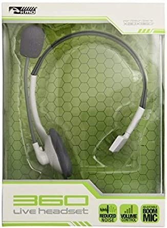 87b27449415 Amazon.com: KMD Xbox 360 Live Gaming Headset with Mic: Video Games