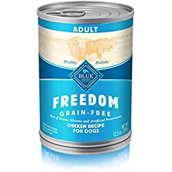 BLUE Freedom Adult Grain-Free Chicken Wet Dog Food 12.5oz (Pack of 12)