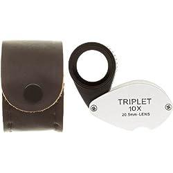 SE MJ37810HR 10x 20.5mm Triplet Professional Heat Resistant Loupe