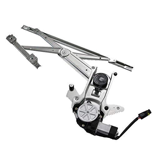 (Driver Front Power Window Lift Regulator with Motor Assembly Replacement for 1994-2002 Dodge Ram 2500 & Ram 3500 | 1994 1995 1996 1997 1998 1999 2000 2001 Ram 1500)