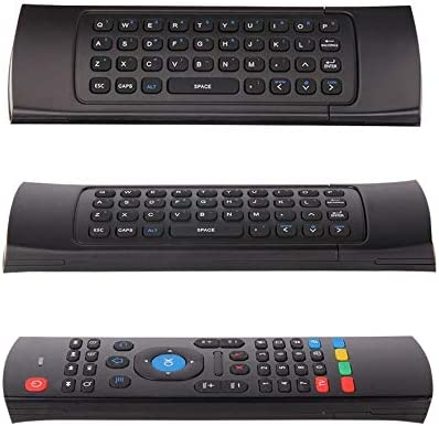 2.4G Mini Wireless Remote Control Keyboard Mouse for Android TV Box Laptop Black