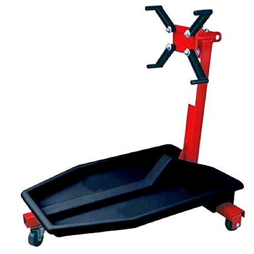 Engine Stand With Drip Tray Durable Black Plastic Fit Most 3 - 4 Leg Engine Stands - House Deals