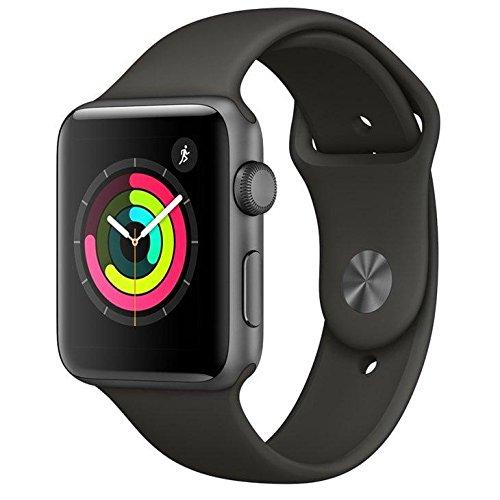 Apple Watch Series 3 42 mm de Alumínio e Pulseira Esportiva Cinza Espacial MR362BZ/A