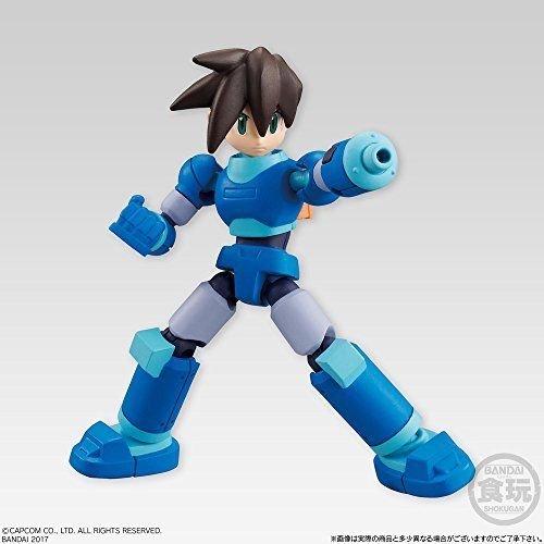 Mega Man 66 Action Dash Rock Volnutt Servbot Character Mini Action Toy Figure approx. 66mm / 2.6in Bandai Shokugan