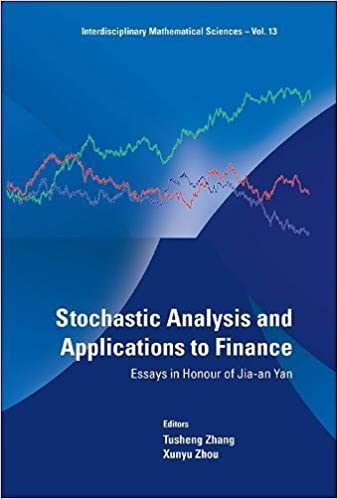 com stochastic analysis and applications to finance  stochastic analysis and applications to finance essays in honour of jia an yan interdisciplinary mathematical sciences