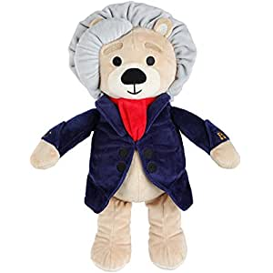 Vosego Ludwig Van Beethoven Virtuoso Bear | 40 Mins Classical Music For Babies | 15 Award Winning Musical Soft Toy | Educational Toy For Infants Kids Adults