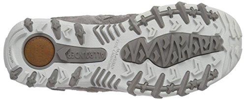 Allrounder by Mephisto NIWA C.SUEDE 60/OPEN MESH N 60 GRIGIO - Zapatillas De Deporte Para Exterior de terciopelo mujer marrón - schlamm (mix)