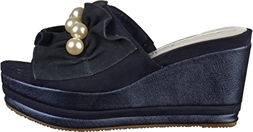 27256 Womens 1 Mules 30 Navy Tamaris 5qBO7SF