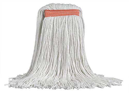 Band Wide Mop - M2 Professional SYNRAY Rayon 32oz Cut-End Mop Replacement Head, 1.5