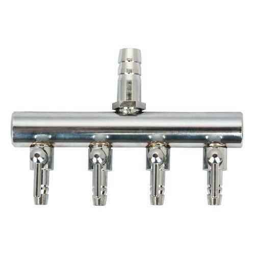 ir Divider Manifold (4-outlets) by Elemental Solutions (Sunleaves Air Divider)