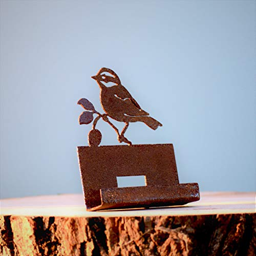 Elegant Garden Design Black-Capped Chickadee Business Card Holder