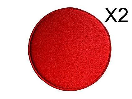 Catay home confezione da cuscini rotondi in tela olona colore