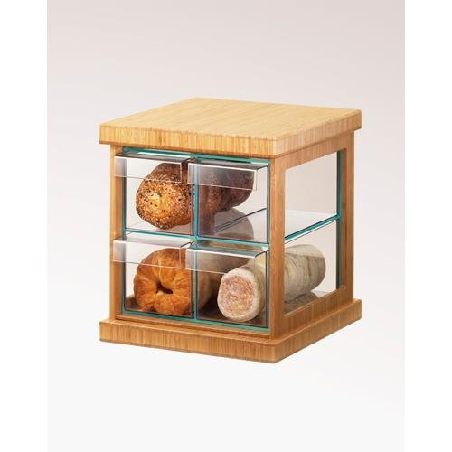 Cal-Mil 1718-60 Bamboo 4 Drawer Bread Case by Cal Mil