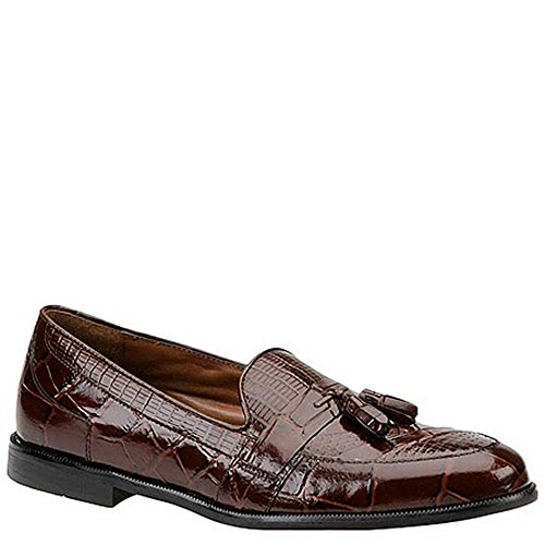 (STACY ADAMS Men's Sabola Tassel Slip-On 11.5 D(M) US Cognac-Snake )